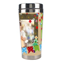 Xmas By Xmas4   Stainless Steel Travel Tumbler   9a0he9ik49pr   Www Artscow Com Right
