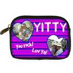 yitty bday - Digital Camera Leather Case