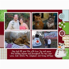 Xmas Card 14 By Starla Smith   5  X 7  Photo Cards   Xfe0d04278de   Www Artscow Com 7 x5 Photo Card - 5