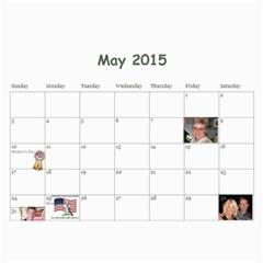 Calendar L 2015 By Roxanne Klingler   Wall Calendar 11  X 8 5  (12 Months)   Yxmpiwm8r9ac   Www Artscow Com May 2015