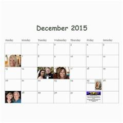 Calendar L 2015 By Roxanne Klingler   Wall Calendar 11  X 8 5  (12 Months)   Yxmpiwm8r9ac   Www Artscow Com Dec 2015