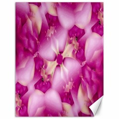 Beauty Pink Abstract Design Canvas 12  X 16  (unframed) by dflcprints