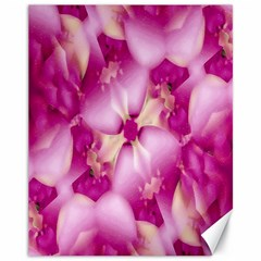 Beauty Pink Abstract Design Canvas 11  X 14  (unframed) by dflcprints