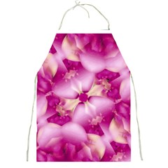 Beauty Pink Abstract Design Apron by dflcprints