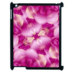 Beauty Pink Abstract Design Apple Ipad 2 Case (black) by dflcprints
