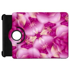Beauty Pink Abstract Design Kindle Fire Hd Flip 360 Case by dflcprints