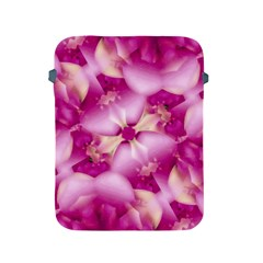Beauty Pink Abstract Design Apple Ipad Protective Sleeve by dflcprints