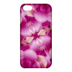 Beauty Pink Abstract Design Apple Iphone 5c Hardshell Case by dflcprints