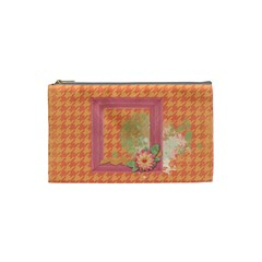 Cosmetic Bag (s) By Joy   Cosmetic Bag (small)   Ylvs3eje0t9i   Www Artscow Com Front