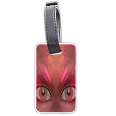 Hypnotized Luggage Tag (Two Sides) by icarusismartdesigns