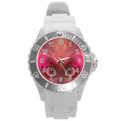 Hypnotized Plastic Sport Watch (large) by icarusismartdesigns