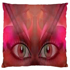 Hypnotized Large Cushion Case (two Sided)  by icarusismartdesigns