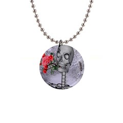 Looking Forward To Spring Button Necklace by icarusismartdesigns
