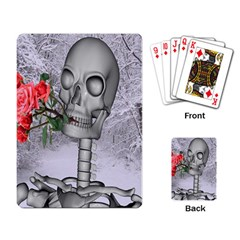 Looking Forward To Spring Playing Cards Single Design by icarusismartdesigns