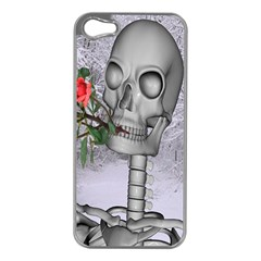 Looking Forward To Spring Apple Iphone 5 Case (silver) by icarusismartdesigns