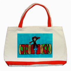Picture 039 Classic Tote Bag (Red)