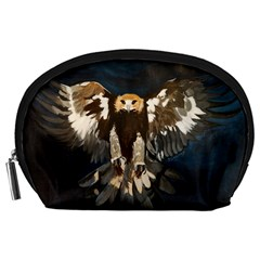 Golden Eagle Accessory Pouch (large) by JUNEIPER07