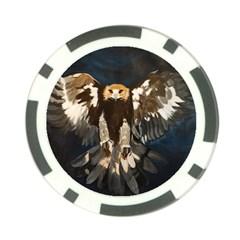 GOLDEN EAGLE Poker Chip (10 Pack) by JUNEIPER07