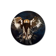 Golden Eagle Drink Coasters 4 Pack (round) by JUNEIPER07