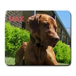 Max the dog - Large Mousepad