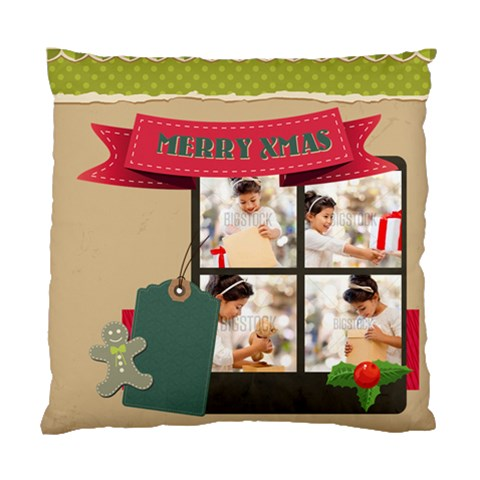 Xmas By Xmas4   Standard Cushion Case (one Side)   Tzqwy5p0ptz7   Www Artscow Com Front