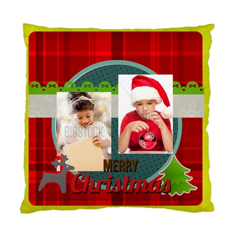 Xmas By Xmas4   Standard Cushion Case (one Side)   Gcwnihdzwtf7   Www Artscow Com Front