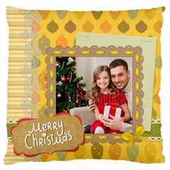 Xmas By Xmas4   Large Cushion Case (two Sides)   Hv7zawr2q3fr   Www Artscow Com Front