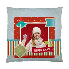 Xmas By Xmas   Standard Cushion Case (two Sides)   Jeci8lusg38m   Www Artscow Com Front