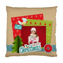 Xmas By Xmas   Standard Cushion Case (two Sides)   Iql9rznpxw0y   Www Artscow Com Front