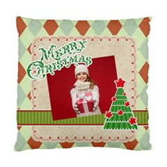 Xmas By Xmas   Standard Cushion Case (two Sides)   3jsvscwqnoe7   Www Artscow Com Front