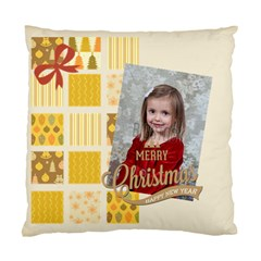 Xmas By Xmas   Standard Cushion Case (two Sides)   8xny5mgypggk   Www Artscow Com Front