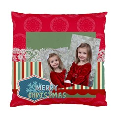 Xmas By Xmas   Standard Cushion Case (two Sides)   Ctehny6oriaz   Www Artscow Com Front