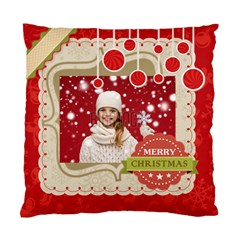 Xmas By Xmas   Standard Cushion Case (two Sides)   Z5c5qj365ith   Www Artscow Com Back