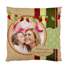Xmas By Xmas   Standard Cushion Case (two Sides)   D6mdr6xpbhlc   Www Artscow Com Front