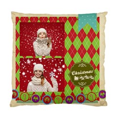 Xmas By Xmas   Standard Cushion Case (two Sides)   X09bcd4bcbvm   Www Artscow Com Back