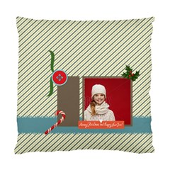 Xmas By Xmas   Standard Cushion Case (two Sides)   3b3jc4hmnpey   Www Artscow Com Front