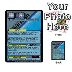 Sentinels 54 Card Promos By Sasha   Multi Purpose Cards (rectangle)   07y5jdkks28u   Www Artscow Com Front 53