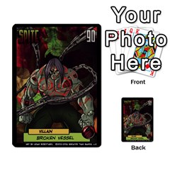 Sentinels 54 Card Promos By Sasha   Multi Purpose Cards (rectangle)   07y5jdkks28u   Www Artscow Com Back 7