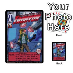 Sentinels 54 Card Promos By Sasha   Multi Purpose Cards (rectangle)   07y5jdkks28u   Www Artscow Com Front 8