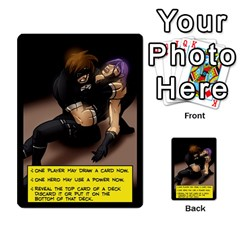 Sentinels 54 Card Promos By Sasha   Multi Purpose Cards (rectangle)   07y5jdkks28u   Www Artscow Com Back 22