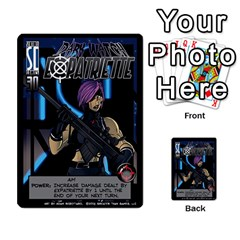 Sentinels 54 Card Promos By Sasha   Multi Purpose Cards (rectangle)   07y5jdkks28u   Www Artscow Com Front 25