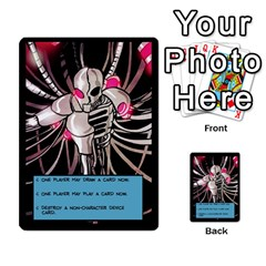 Sentinels 54 Card Promos By Sasha   Multi Purpose Cards (rectangle)   07y5jdkks28u   Www Artscow Com Back 3