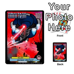 Sentinels 54 Card Promos By Sasha   Multi Purpose Cards (rectangle)   07y5jdkks28u   Www Artscow Com Front 27