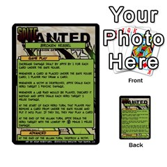 Sentinels 54 Card Promos By Sasha   Multi Purpose Cards (rectangle)   07y5jdkks28u   Www Artscow Com Back 33