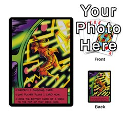 Sentinels 54 Card Promos By Sasha   Multi Purpose Cards (rectangle)   07y5jdkks28u   Www Artscow Com Back 35