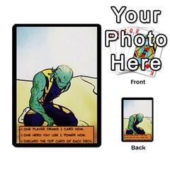 Sentinels 54 Card Promos By Sasha   Multi Purpose Cards (rectangle)   07y5jdkks28u   Www Artscow Com Back 4