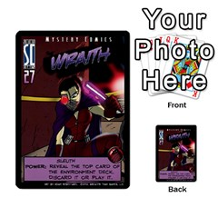 Sentinels 54 Card Promos By Sasha   Multi Purpose Cards (rectangle)   07y5jdkks28u   Www Artscow Com Front 37
