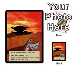 Sentinels 54 Card Promos By Sasha   Multi Purpose Cards (rectangle)   07y5jdkks28u   Www Artscow Com Back 39
