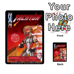 Sentinels 54 Card Promos By Sasha   Multi Purpose Cards (rectangle)   07y5jdkks28u   Www Artscow Com Front 5