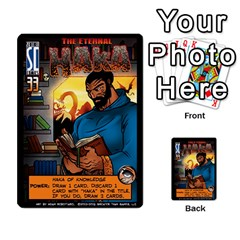 Sentinels 54 Card Promos By Sasha   Multi Purpose Cards (rectangle)   07y5jdkks28u   Www Artscow Com Front 43